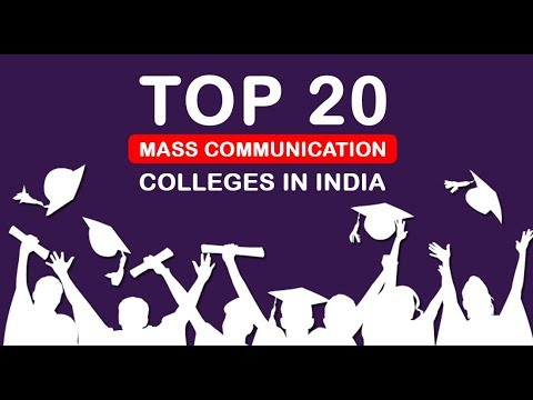 20 Top Mass Communication Colleges In India