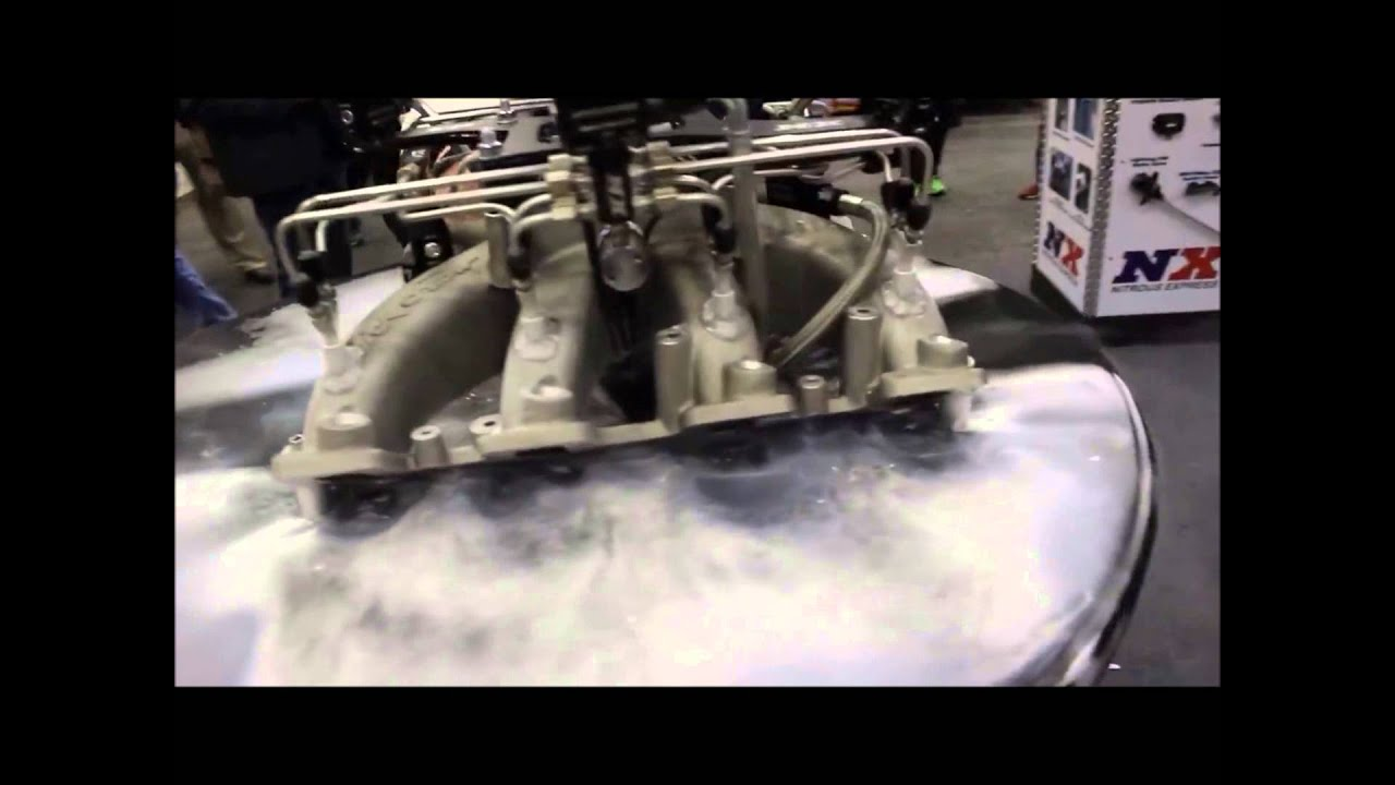 This Is What A 5,000-HP Shot of Nitrous Looks Like - The Drive