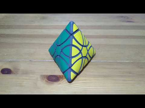 hand made Twisty Puzzle aka Cube 3x3 and Pyraminx Hexcopter 18 by Joseph Wong