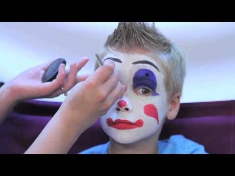 How To Facepaint a Clown in 3 Easy Steps - Rubie