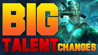 Dota 2 Big New Talent Changes - Patch 7.07