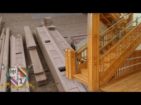 Custom Staircase Manufacturing and Repairs