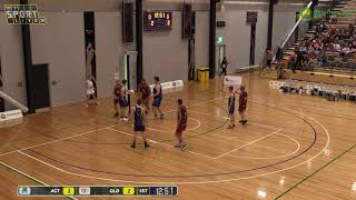 U20 MEN  PRELIMINARY FINAL  Qld v ACT