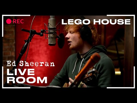 ed sheeran live room ed sheeran quot lego house quot captured in the live room 12464