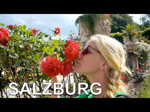 Mirabell Gardens: Sound of Music & Castle concert - SALZBURG Austria 02 | Travel Vlog