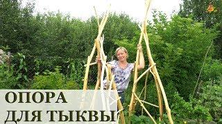 кРЕПКАЯ ОПОРА для вьющихся растений своими руками