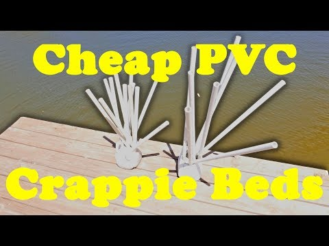PVC Crappie Beds Extremely Cheap