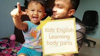 Learn English for kids   kids body parts vocabulary learning