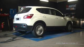 Reprogrammation Moteur Nissan Qashqai dci 150cv @ 197cv Digiservices Paris 77 Dyno