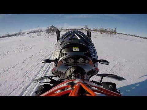 Winter fun in Sweden.