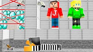 De BANK WORDT OνERVALLEN In Minecraft! (Survival)