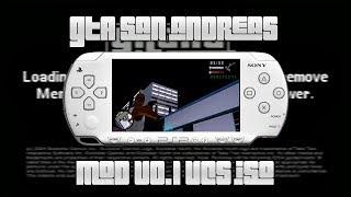 Gta San Andreas Lite Para Psp E Android Ppsspp Gta Sa Mod Gta Vc