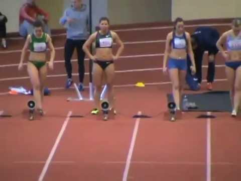 Lietuvos žiemos čempionatas 2013. 60m A finalas. Moterys