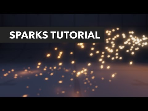Unity 2017 Tutorial - Sparks Particle Effect