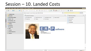 SAP Business One KOREAN - 10. 9-Landed Costs