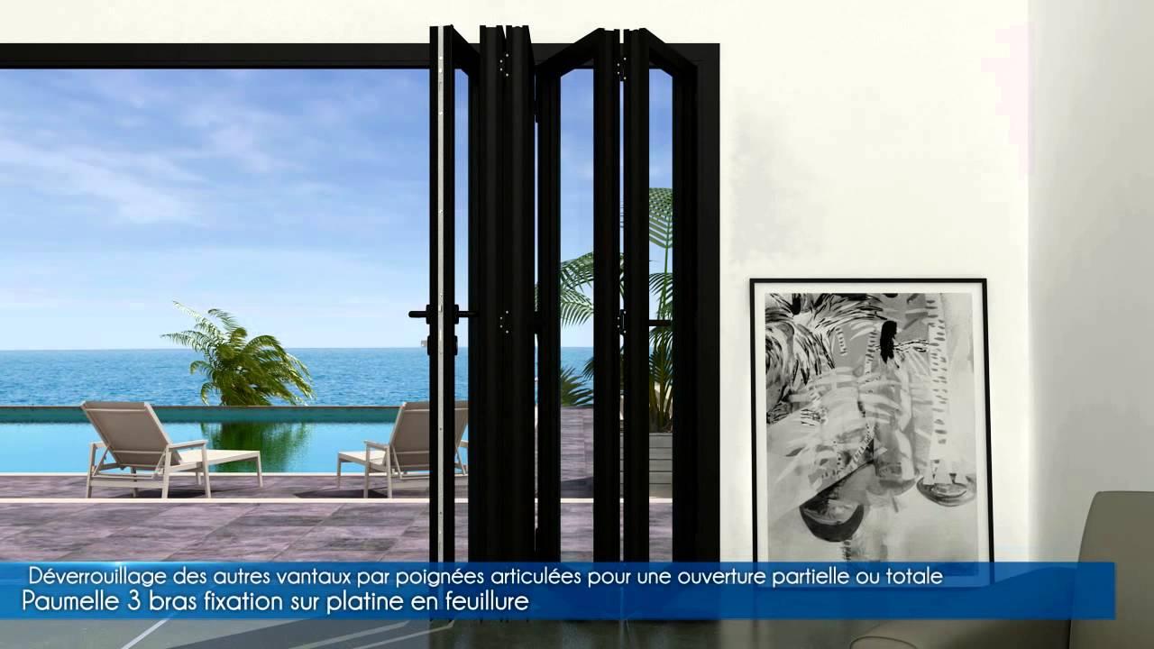 Animation 3d Porte Accordéon Specitec