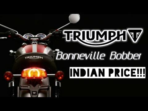 Triumph Bonneville Bobber Price Launched India Full