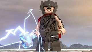 LEGO Marvel Super Heroes 2 - Thor - Open World Free Roam Gameplay (PC HD) [1080p60FPS]