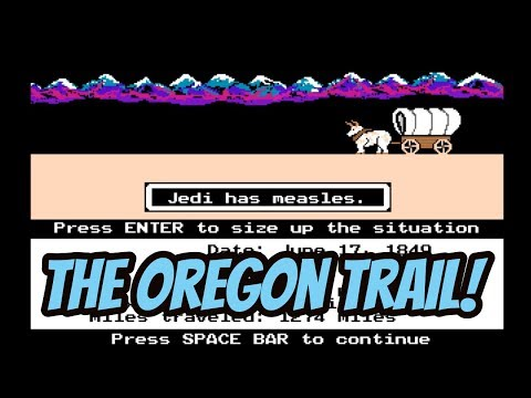 Let's Play: The Oregon Trail (MS-DOS)!