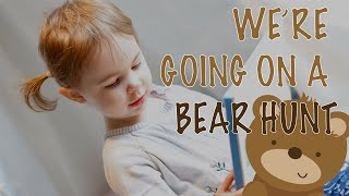 We're Going On A Bear Hunt 2021 | Story time with 3 year-old, Ivy
