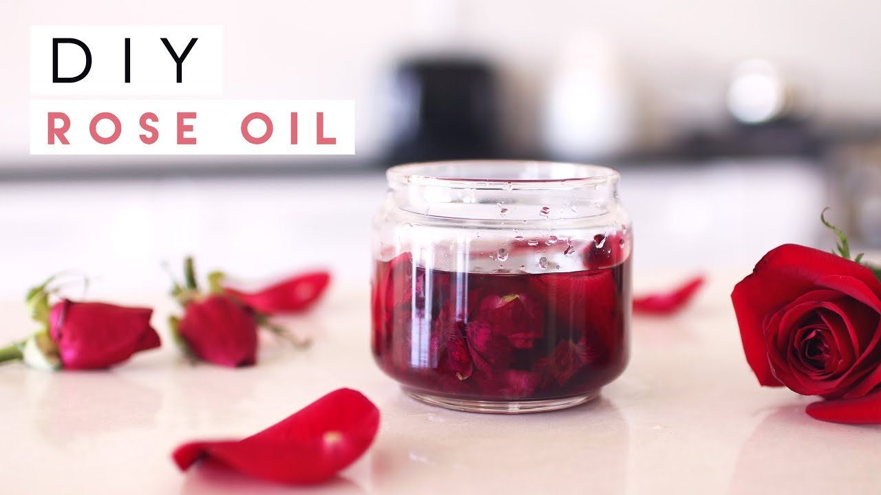 Diy Rose Oil For Skin Hair Nails Youtube