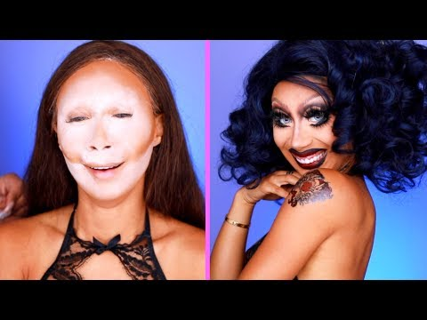 How To Go From A Donut To A Real Punk Edit! DRAG MAKEUP with PatrickStarrr!