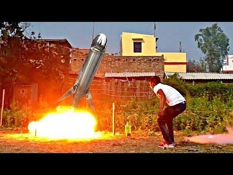 Jet Fuel Barrel Went Nuts 😱 Oxygen + Nitrogen Rocket
