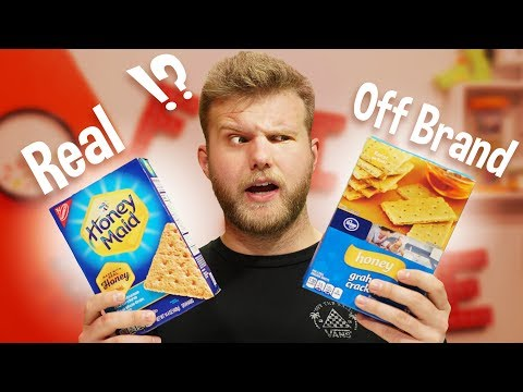 Name Brand VS Off Brand Taste Test!