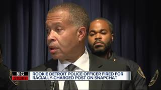 Rookie DPD officer terminated for allegedly posting offensive message on Snapchat