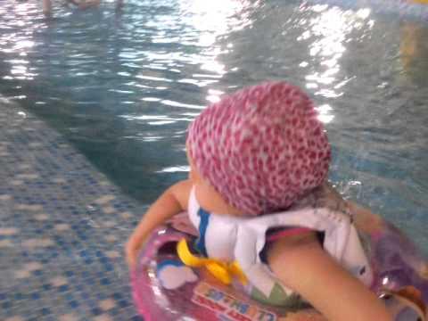 Олеся в бассейне ) 2 года) Жемчужина Югры