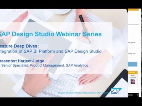 Integration of the SAP BI Platform and SAP Design Studio