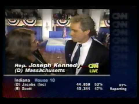 Election Night Coverage 1994 Part 3: CNN - YouTube