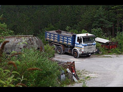 Cava Vintage In Trentino .... Ecco Lo SCANIA 142 Di Severino