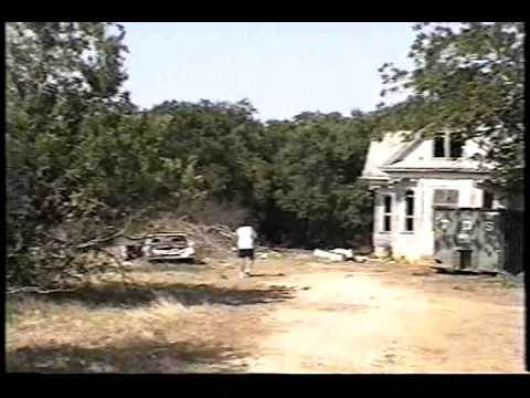 Visit to Texas Chainsaw Massacre FILM House in Round Rock, Texas - Part 1