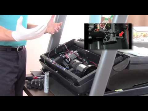 Treadmill Repair, Incline Motor Lubrication  YouTube