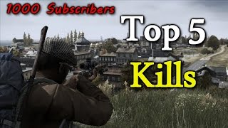 DayZ Standalone Top 5 Kills 1000 Subscribers Special