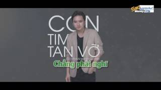 KARAOKE Con Tim Tan Vỡ - Phan Mạnh Quỳnh