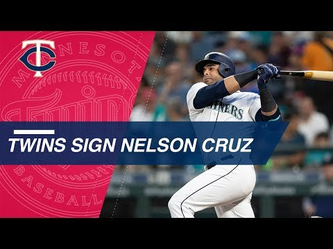 Nelson Cruz lands with Twins in free agency