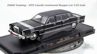 24068 Yatming 1972 Lincoln Continental Reagan 124 Scale Diecast Wholesale