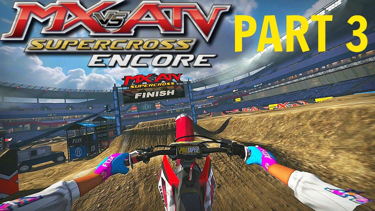 Download MX vs ATV Supercross Encore! - Gameplay/Walkthrough - Part 3 - Vegas Baby!