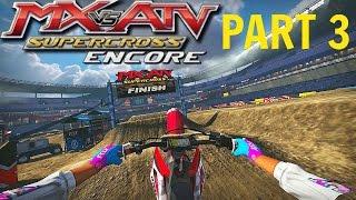 MX vs ATV Supercross Encore! - Gameplay/Walkthrough - Part 3 - Vegas Baby!