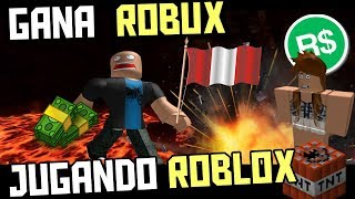 GET ROBUX PLAYING ROBLOX