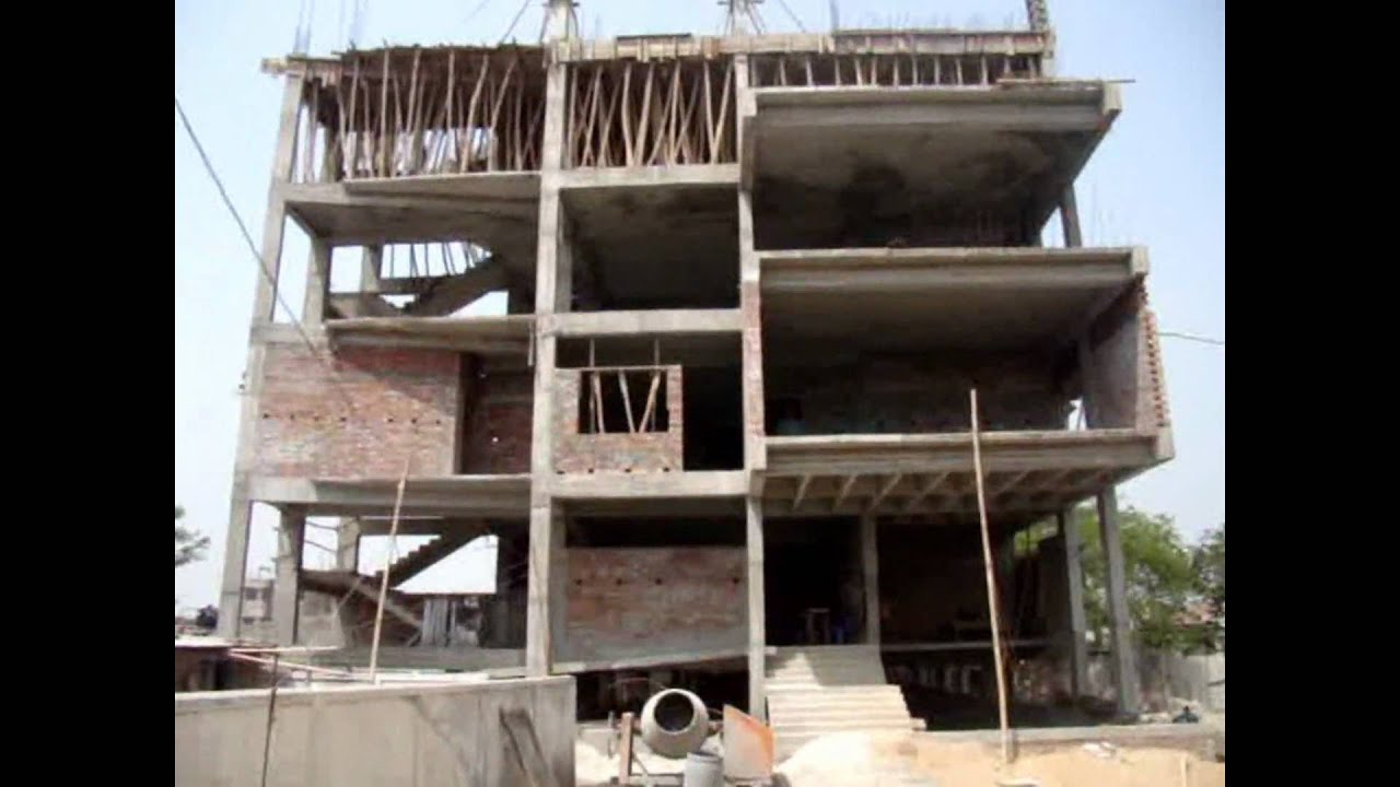 Building construction of badda 3 bangladesh youtube for What contractors are needed to build a house