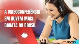 A videoconferência em nuvem com o melhor preço do Brasil.