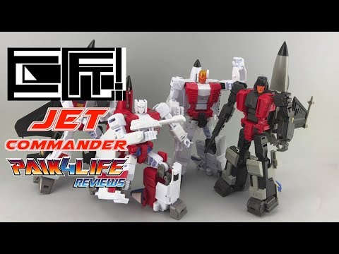 Transformers Review: JuJiang Jet Commander Squadron // P4L Reviews
