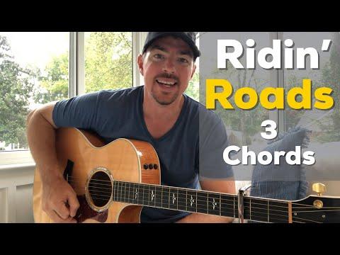 Ridin' Roads | Dustin Lynch | Beginner Guitar Lesson