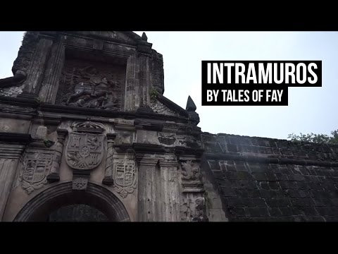 Philippines: Travel in Intramuros