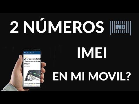 ¿Por qué mi Teléfono Tiene dos Números de IMEI?