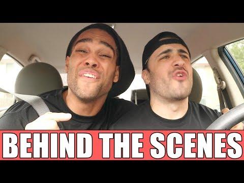 BEHIND THE SCENES WWE THEME CAR KARAOKE