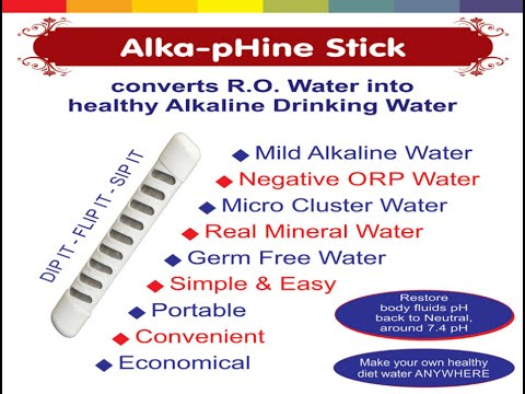 AlkapHine Water